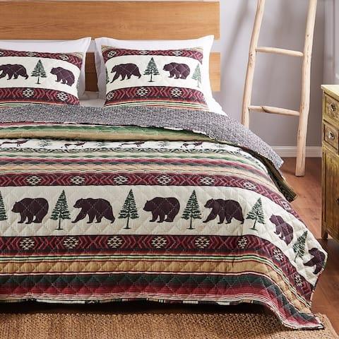 Barefoot Bungalow Yosemite Quilt and Pillow Sham Set