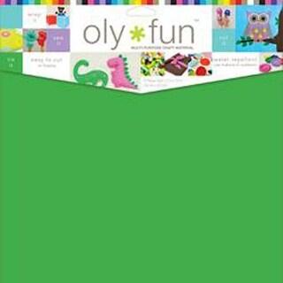 """Oly Fun Multipurpose Craft Material 12""""X12"""" 3/Pkg-Clover"""