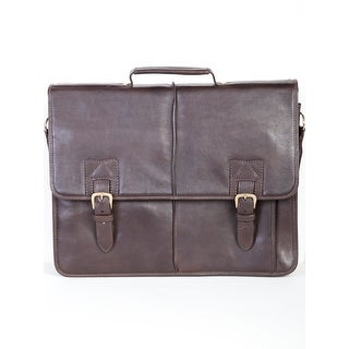 Scully Men's Leather Camden Briefcase