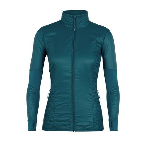 Icebreaker Women's Marinoloft Helix Full Zip Jacket - S