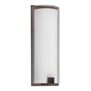 """AFX NLS0619124PMV 1 Light ADA Compliant 19"""" Bathroom Sconce from the Nolan Collection"""