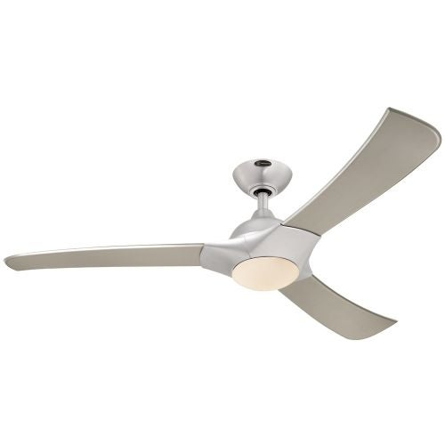 techno 52 3 blade hanging indoor ceiling fan with blades light kit. Black Bedroom Furniture Sets. Home Design Ideas