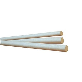 HW16 O Dowel Rods 1 in. Diameter - Oak