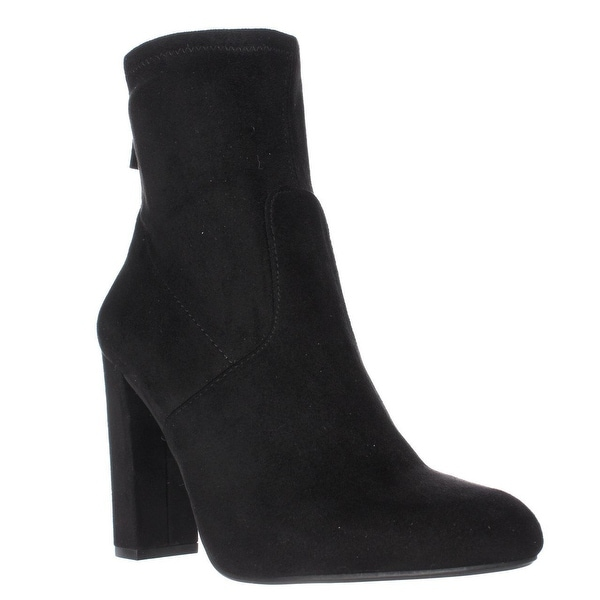 Steve Madden Brisk Stretch Ankle Booties, Black
