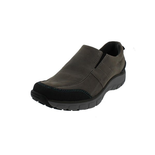 f61e9b9dac8 Clarks Womens Wave Brook Walking Shoes Leather Waterproof - 7 medium (b