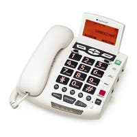 ClearSounds Communications CS-WCSC600 Digital Amplified Freedom Phone with Full ClearDigital Power - White
