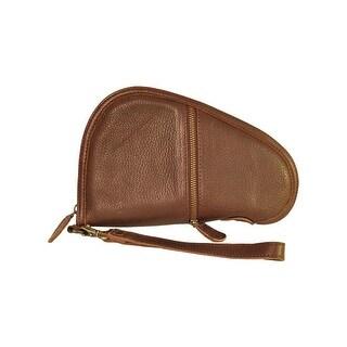 StS Ranchwear Western Pistol Case Leather Zipper Case