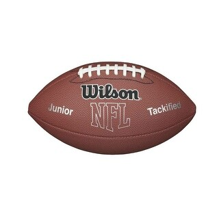 Wilson WTF1414PT NFL MVP Junior Tackified Football w/ Pump & Tee, Junior Size