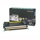Lexmark C734A4YG Lexmark Return Program Toner Cartridge - Laser - 6000 Page - Yellow