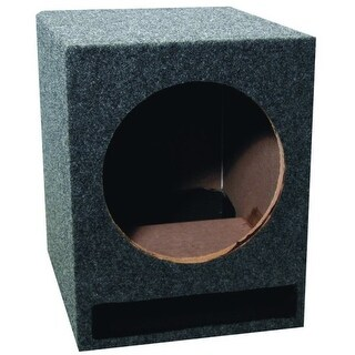 """Single 12"""" Vented Woofer Box"""