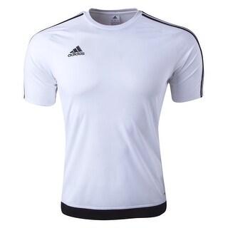 Adidas Boys Estro 15 Jersey T-Shirt White Size Youth Large
