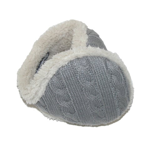 180s Women's Cable Knit Ear Warmers - One size