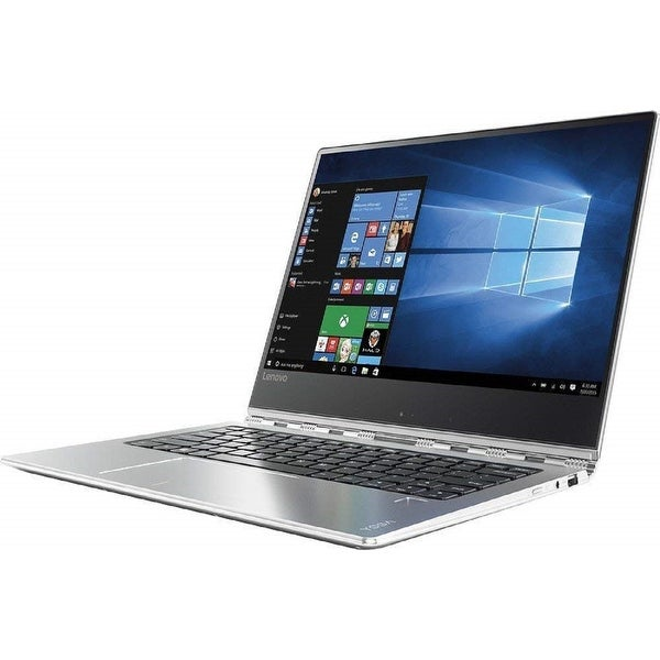 "Lenovo Yoga 910-13IKB 13.9"" Refurb Laptop - Intel i7 7th Gen 2.7 GHz 8GB 256GB SSD Win 10 Home - Webcam, Touchscreen, Bluetooth"