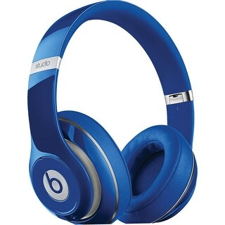 Beats Studio 2.0 WIRED Over Ear Headphones - Blue (Refurbished)