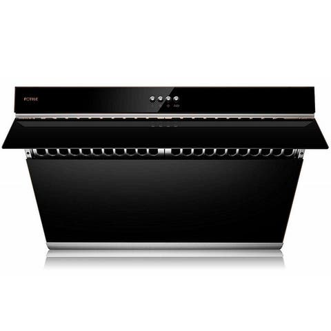"""FOTILE 30 inches Wall Mount Range Hood, 510 CFM, 3 Speeds, Push Buttons,Tempered Glass - 30"""""""