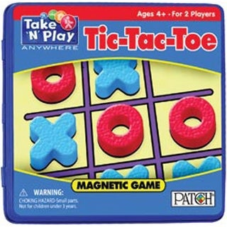 Tic-Tac-Toe - Take 'N' Play Anywhere Magnetic Game