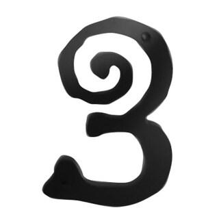 Atlas Homewares SCN3L Scroll Address Number 3