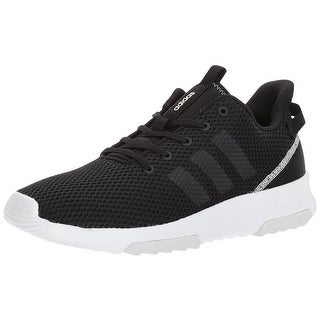 Adidas Women's Neo CloudFoam Racer Trail Running Shoe - Black/White