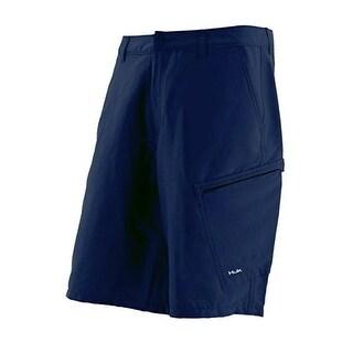 Huk Men's Hybrid Lite Size 30 Navy Blue Shorts