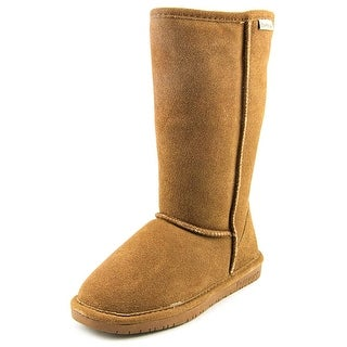 Bearpaw Emma Tall   Round Toe Suede  Winter Boot