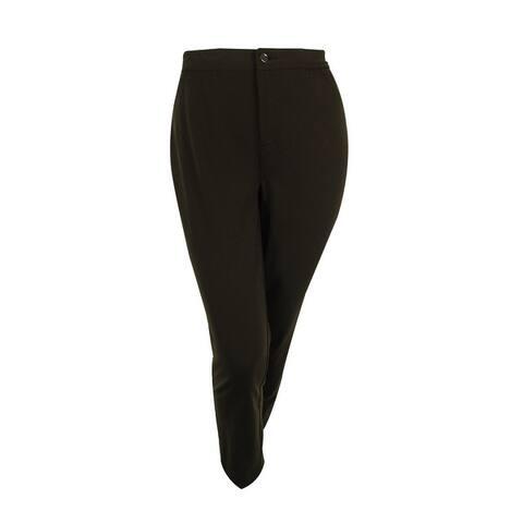 JM Collection Women's Embellished Slim Leg Pants