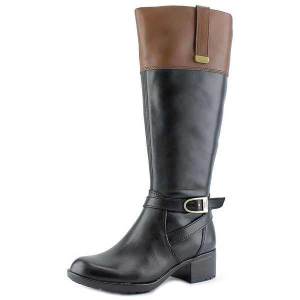 Bandolino Baya Women Round Toe Leather Knee High Boot