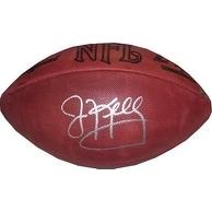 Jim Kelly signed Official NFL Tagliabue Football (Buffalo Bills)