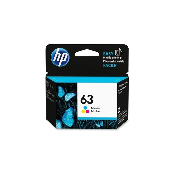 HP 63 Tri-Color Original Ink Cartridge (F6U61AN)(Single Pack)