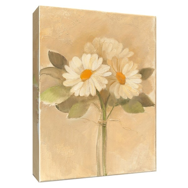 """PTM Images 9-154707 PTM Canvas Collection 10"""" x 8"""" - """"Inspirational Daisies"""" Giclee Daisies Art Print on Canvas"""