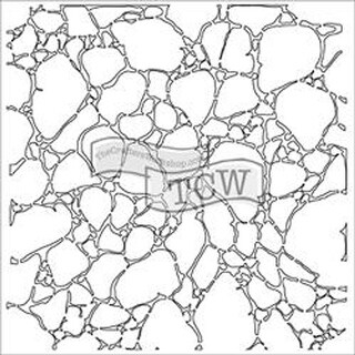"Crafter's Workshop Template 12""X12""-Organic Matter Mask"
