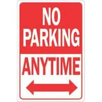 Hy-Ko Products 289080 12X18 No Parking Anytime Hdr
