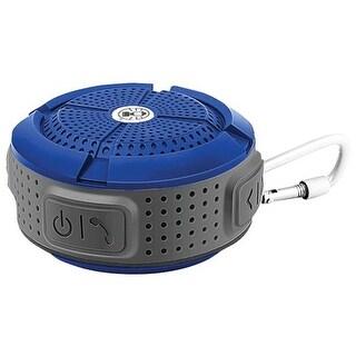 Coleman CBT11-BL Aktiv Sound Waterproof Bluetooth Speaker, Blue