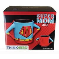 Superhero Mom 15oz Ceramic Mug - Multi