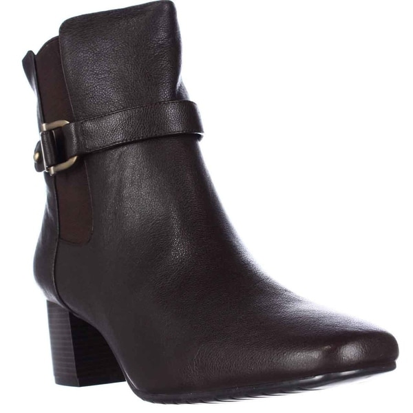 Tommy Hilfiger Gatsbi2 Casual Ankle Boots, Dark Brown - 11 us