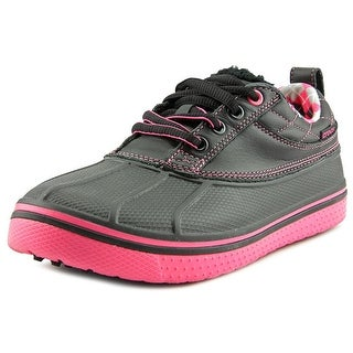 Crocs All Cast Youth Round Toe Leather Sneakers