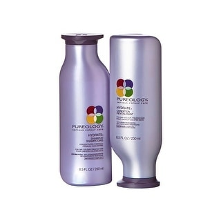 Pureology Hydrate Shampoo & Conditioner Combo Pack (8.5 oz each)