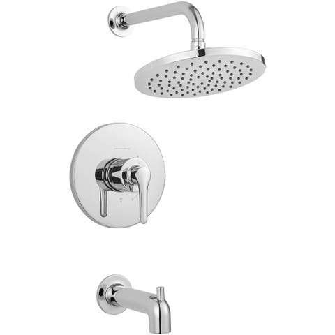American Standard T105.502 Studio S Tub and Shower Trim Package with 2.5 GPM Rain Shower Head