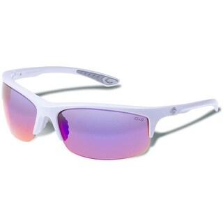 Gargoyles Flux Sunglasses White Frames/Smoke w/ Plasma Mirror Lenses
