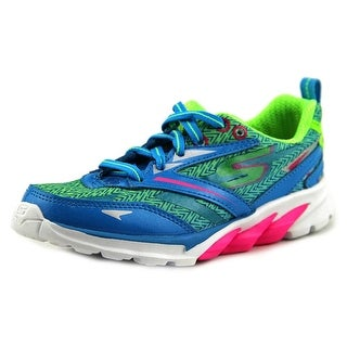 Skechers Go Run 4 (Kids) Round Toe Synthetic Sneakers