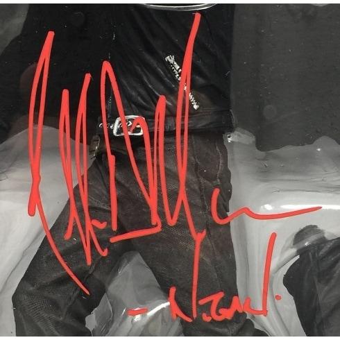 LIMITED EDITION JEFFREY DEAN MORGAN THE WALKING DEAD SIGNED PHOTOGRAPH CERT PRINTED AUTOGRAPH