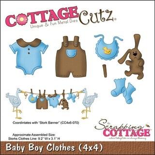 """CottageCutz Die-Baby Boy Clothes .2""""X.5"""" To 1.5""""X1.4"""""""