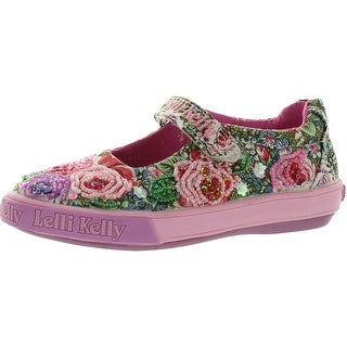 Lelli Kelly Girls Lk8501 Canvas Fashion Flats Shoes