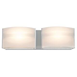 DVI Lighting DVP1722 Vanguard 2 Light Halogen Bathroom Vanity Fixture
