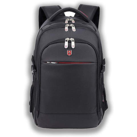 Ruigor RG6192 Black Icon 92 Laptop Backpack Black - 28L