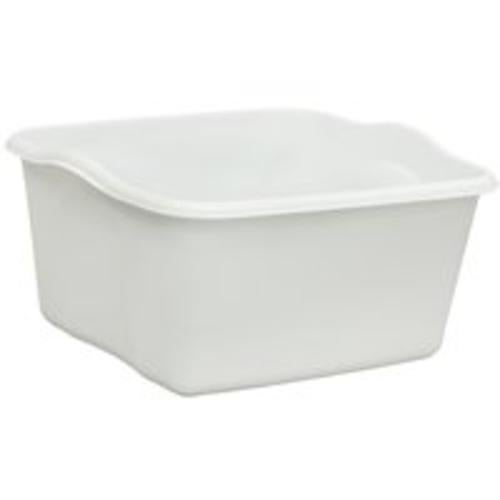 United Solutions BA0006 Plastic Dishpan, 18-Quart, White