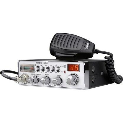 Uniden PC68LTX Trucker CB Radio with RF/Gain/Squelch Control & LED Display