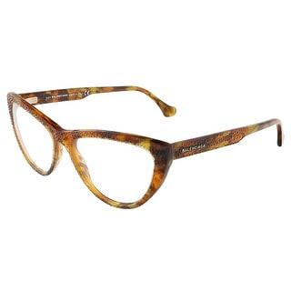 Balenciaga BA5036/V 055 Colorful Havana Cat Eye prescription-eyewear-frames - colorful havana - 56-16-140