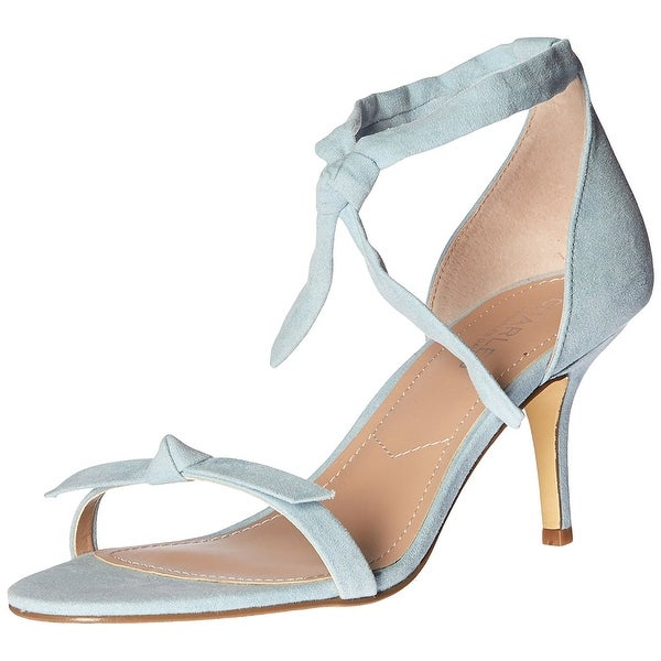 Charles by Charles David Womens Nova Suede Open Toe Casual Ankle Strap Sandals