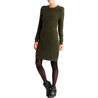 Marc by Marc Jacobs Womens Benjamine Sweaterdress Wool Ribbed