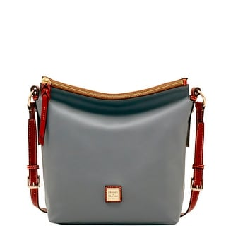 Dooney & Bourke Wexford Leather Small Dixon Crossbody (Introduced by Dooney & Bourke at $248 in Jun 2017) - Charcoal